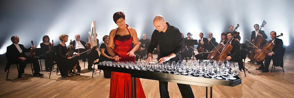 GlassDuo and Sinfonia Varsovia